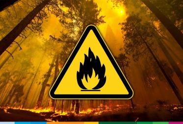 Code Oranje - Brandgevaar in Bosland