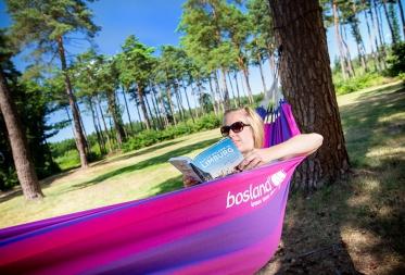 Vanaf nu overal in Bosland genieten met een gratis hangmat