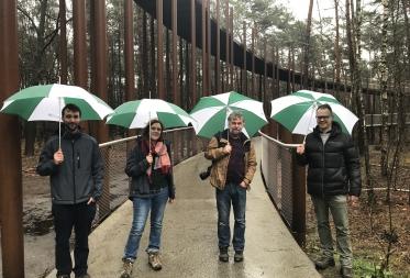 Waalse collega's van Nassonia halen mosterd in Bosland