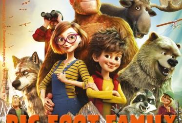 Film in het Bos - Bigfoot family