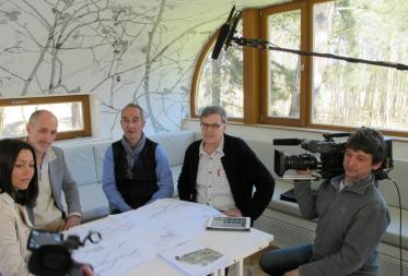 Channel 4 (UK) op bezoek in Bosland