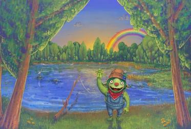 Schatzoektocht - De Kleurrijke droom van Bostrol Bobl