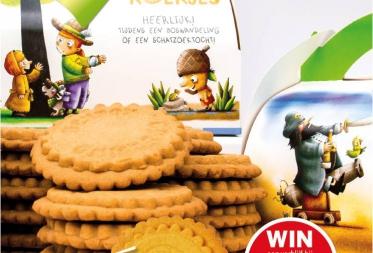 Bosland lanceert unieke koekjes met een creatieve wedstrijd