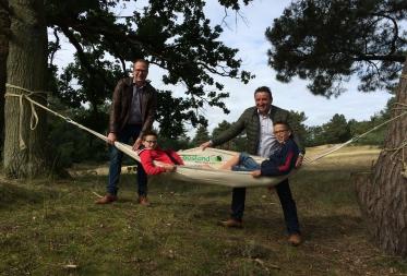 Blijf eens hangen in Bosland: Zomerse hangmatactie