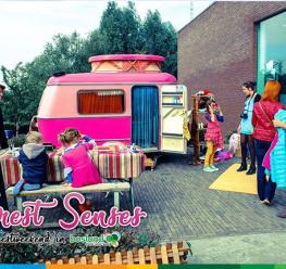 Family Fun For Kids - Workshop Make Over Caravan